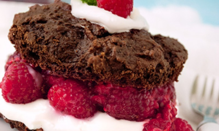Chocolate Raspberry Shortcake
