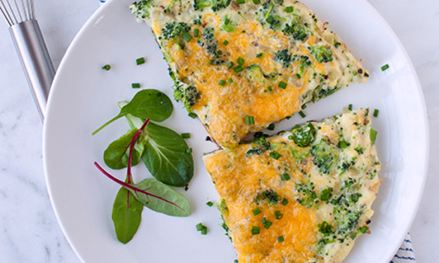 Broccoli Cheese Omelet
