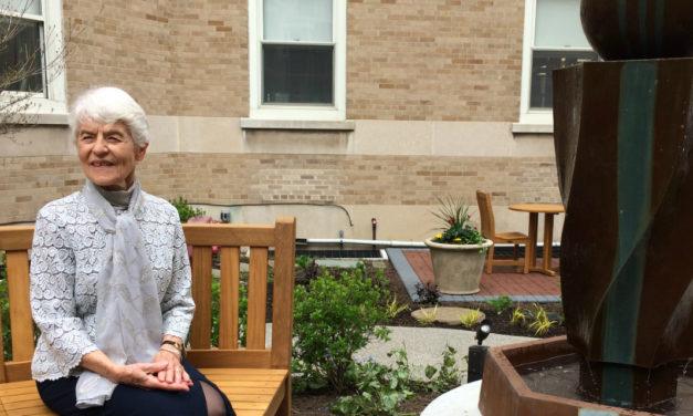 Kenmore Mercy Hospital Opens Healing Garden