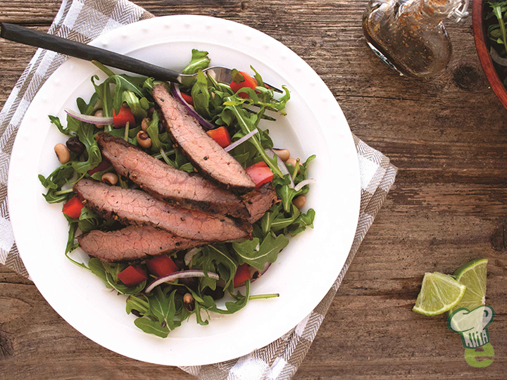grilled-flank-steak-salad