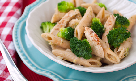 Brown Rice Penne Chicken