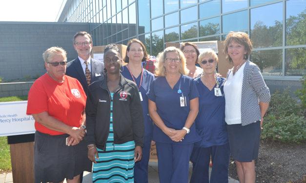 Mercy Hospital Nurses Donate  Over 1,500 Uniforms to Texas Nurses Association