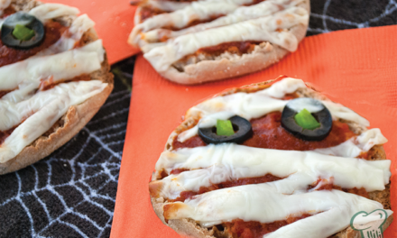 Pizza Muffin Mummies
