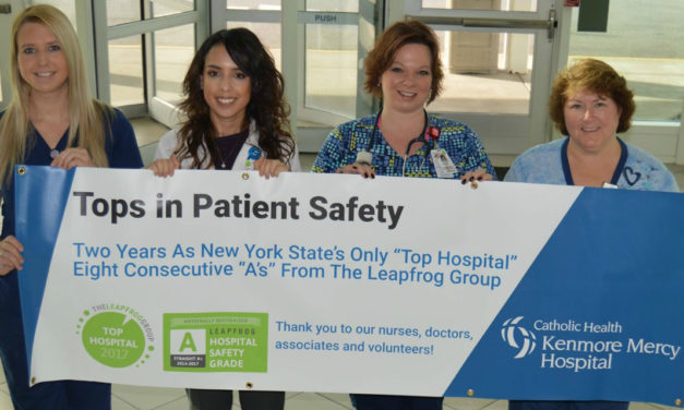 "Kenmore Mercy Only Hospital in New York State to Earn The Leapfrog Group's ""Top Hospital"" Award"