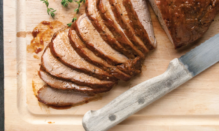 Glazed Pork Roast