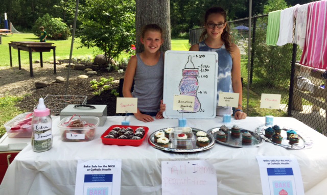 Middle School Swimmers Bake Cupcakes to Raise Funds for NICU