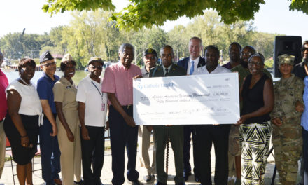 African American Veterans Monument Receives $50,000 Donation from Catholic Health