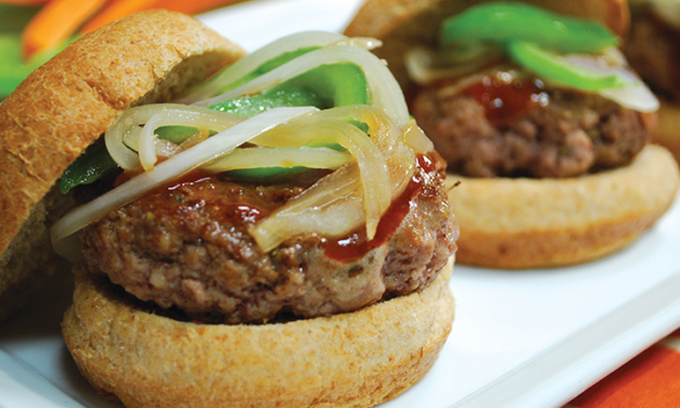 Sausage and Peppers Sliders