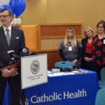 "Erie County Clerk & Mercy Hospital Launch Free ""Heart Healthy"" Auto Bureau Blood Pressure Screenings"