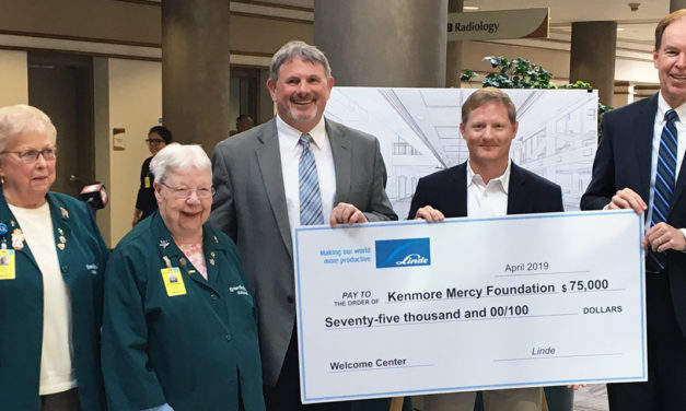 Linde Helps Kenmore Mercy Provide Welcoming First Impression for Visitors
