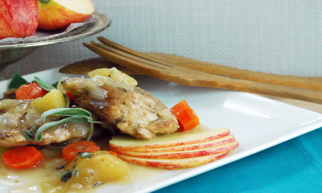 Chicken Thighs with Apples