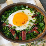 Egg, Bacon, and Grits Bowl