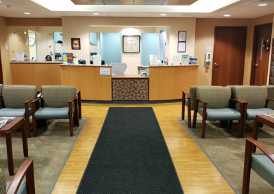 Piver Center waiting room