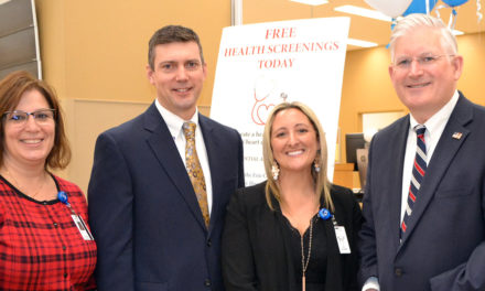 "Erie County Clerk Mickey Kearns & Mercy Hospital Kick Off Free ""Heart Healthy"" Screenings"