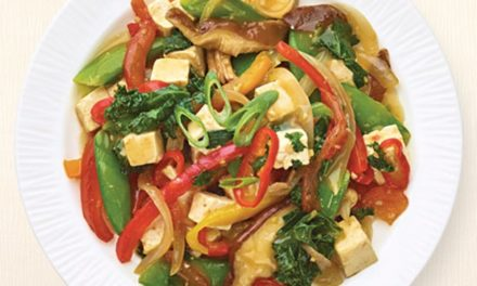 Asian Vegetables & Tofu Stir Fry