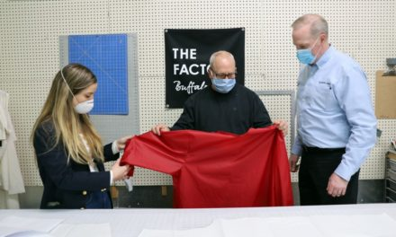 Catholic Health Teams Up with Small Local Manufacturer to Produce 5,000 Protective Gowns for Healthcare Workers