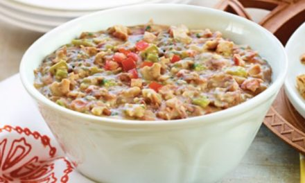 Homestyle Refried Bean Dip