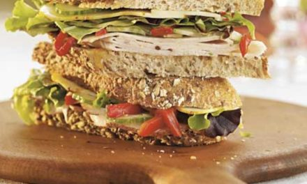 Turkey & Veggie on 7-Grain Bread