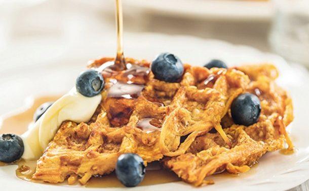 Oatmeal Butternut Waffles