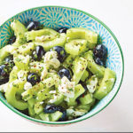 Cucumber, Blueberry, & Feta Salad