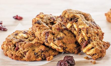 Whole Grain Cherry Almond Cookies