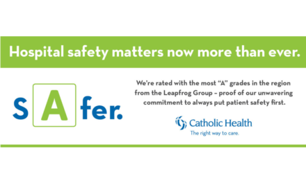 Catholic Health Hospitals Receive Area's Highest Grades for Patient Safety