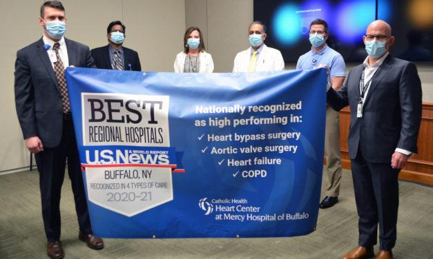 "Mercy Hospital Celebrates U.S. News & World Report ""High Performing Hospital"" Ratings"