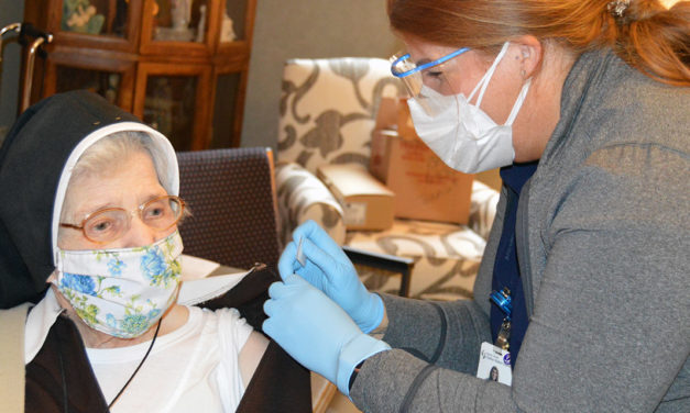 Catholic Health Partnering with Local Convents to Vaccinate Sisters