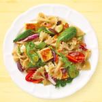 Seared Feta & Vegetable Pasta Salad