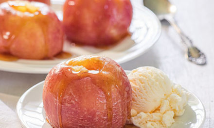 """Microwave Maple """"Baked"""" Apples"""