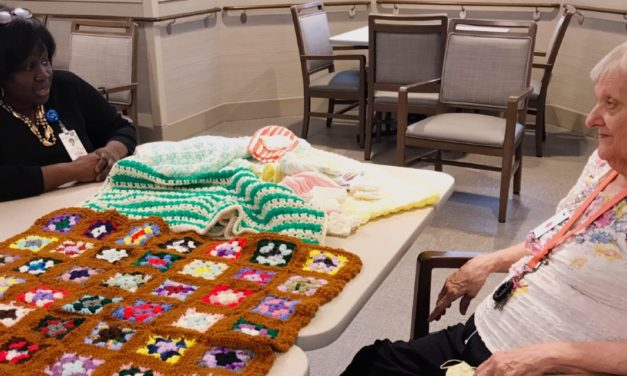 Catholic Health LIFE participant handmade gifts will benefit Nurse Family Partnership babies